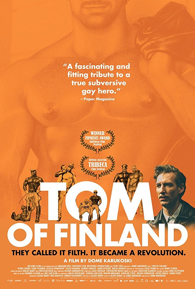 Tom of Finland - 2017Director: Dome KarukoskiMusic: Hildur Guðnadóttir and Lasse Enersen
