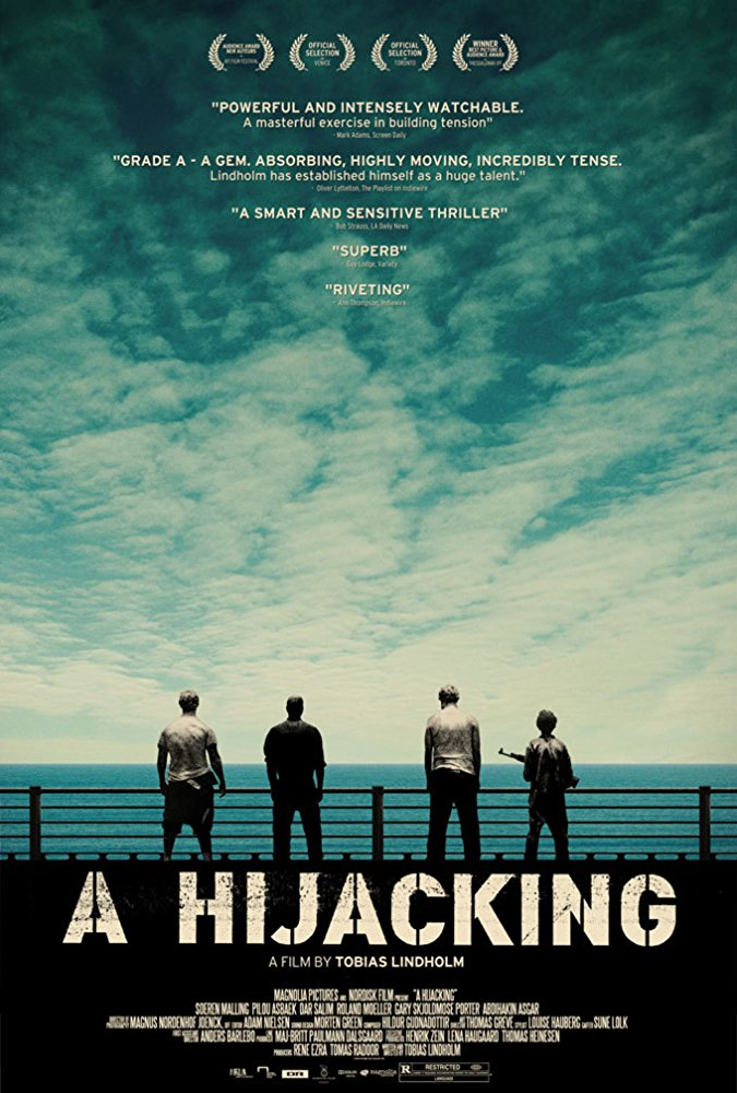 Hijacking - 2012Director: Tobias LindholmMusic: Hildur Guðnadóttir  Awards:Robert Prisen 2013 - nomination for best original music