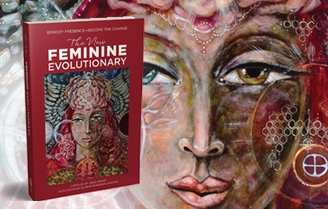 THERE IS A NEW WOMEN IS EMERGING FROM THE DARKNESS- STRONG, DETERMINED, FLOWING WITH PRIMORDIAL POWER-FEARLESSLY FACING HER DEMONS, THE SWORD OF KALE READY  .    The New Feminine Evolutionary is a groundbreaking book : revealing in total for the first time the deep essences that run throughout this movement of women who are changing the world. This book is bold, fearless, and resonates with honesty. Each author brings her unique slice of essence to a chapter with stories and wisdom, as a special gift to the reader—reaching out a hand and lighting the way for her to step onto the path of transformation.  Forged around the fire circle, this woman stands ready to step forward, fully embodied, carrying the torch of transformation to all those courageous enough to evolve …   Twenty-two pioneers, including Tara,  share their story—women who personify the Divine Feminine: Healers. Mothers. Medicine women. Artists. Quantum guides. Activists.   She is US—created out of the forces of change—the Maiden, the Mother, the Crone. She is the woman next door.  It is time to declare your power, time to remember our sacred mother, GAIA. Time to add your voice and define who you are—and what you are doing to bring the resonance of love to the world.  Published by Flower of Life Press, this book establishes a conversation about the different facets of this new feminine evolutionary woman and how our open hearts and powerful lineage of sisterhood can transform not only the world we each inhabit but the global energetic of love.