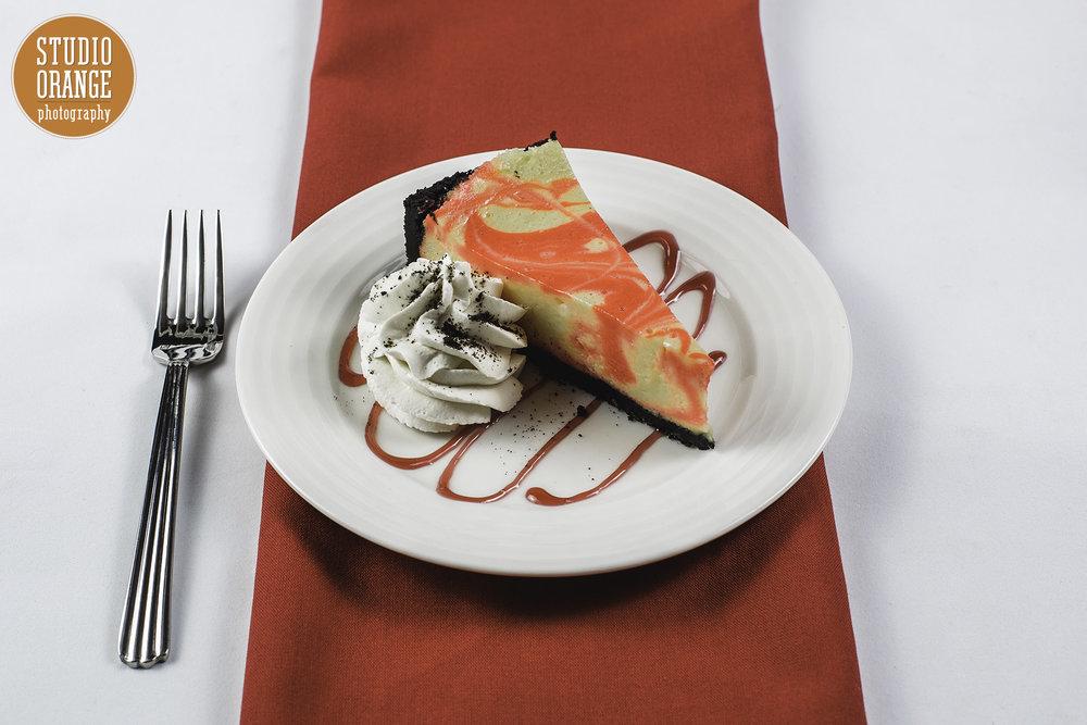 Raspberry White Chocolate Cheesecake -