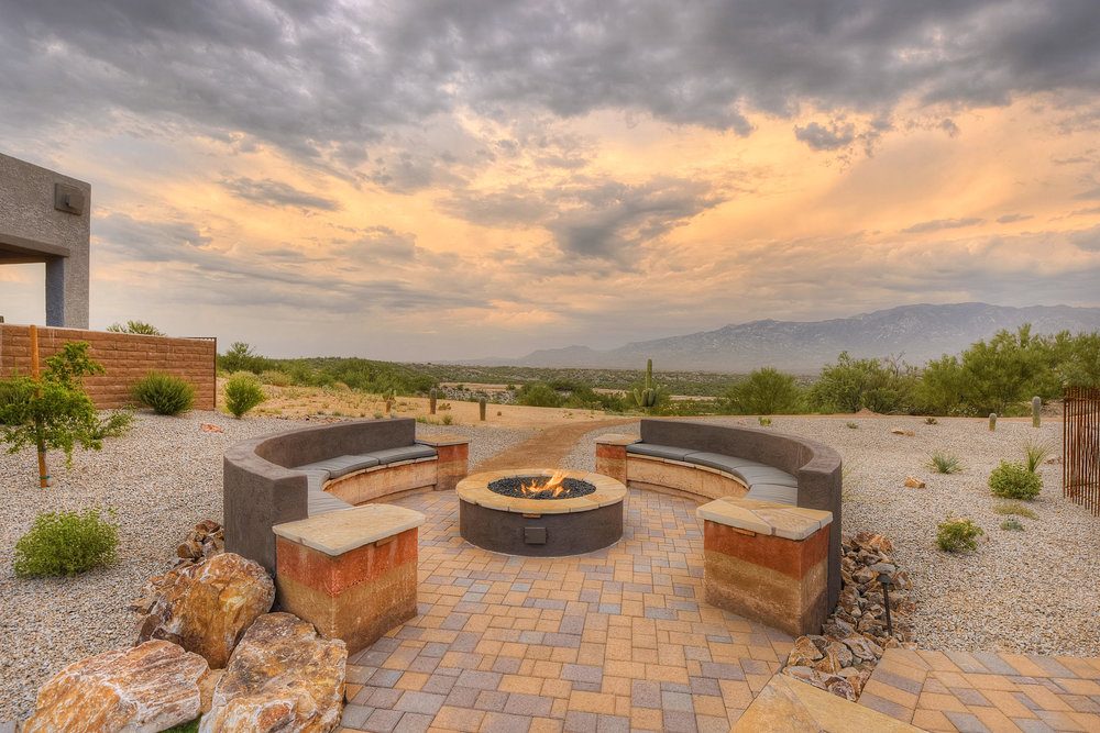 community outdoor fire pit
