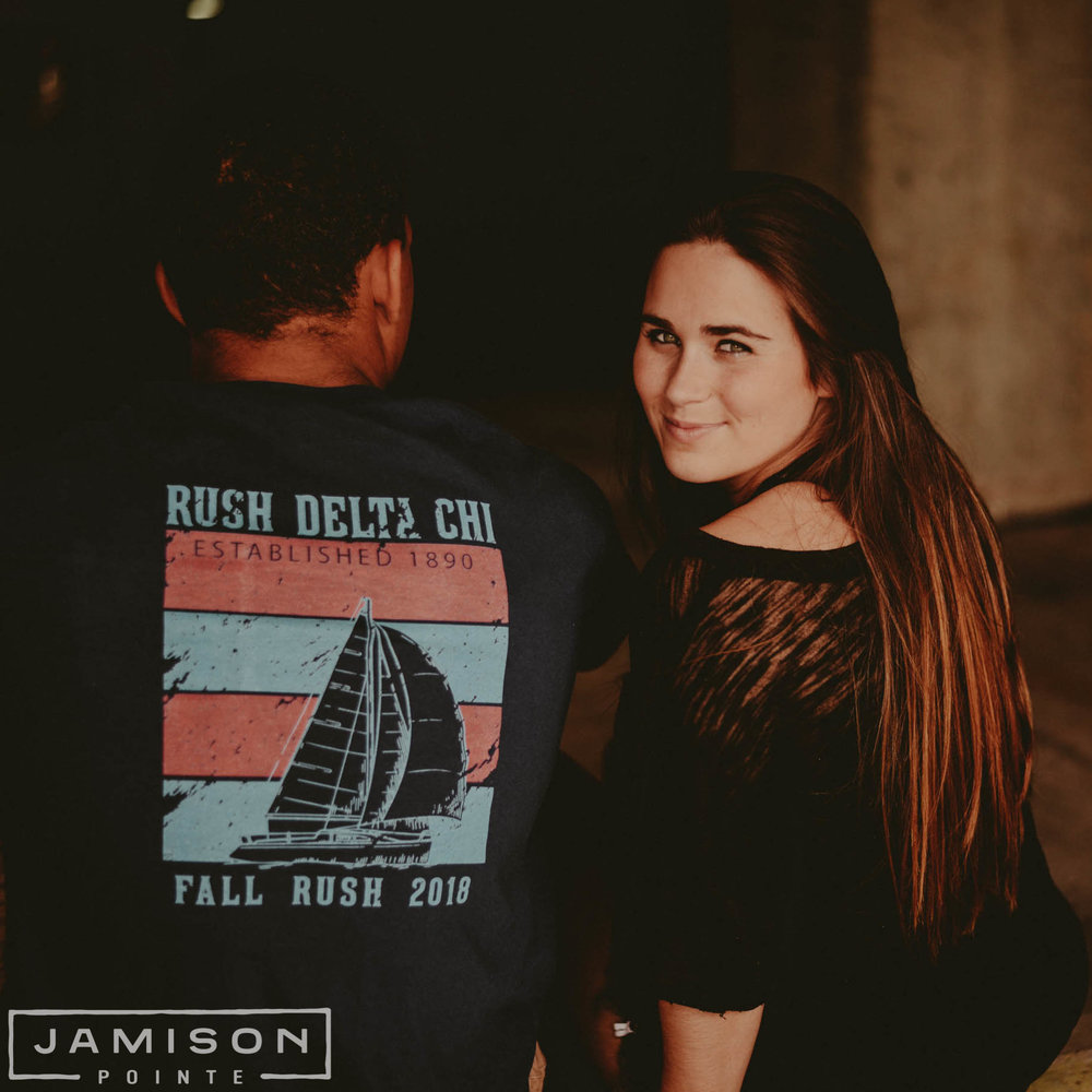 Delta Chi Sailboat Fall Rush Tee