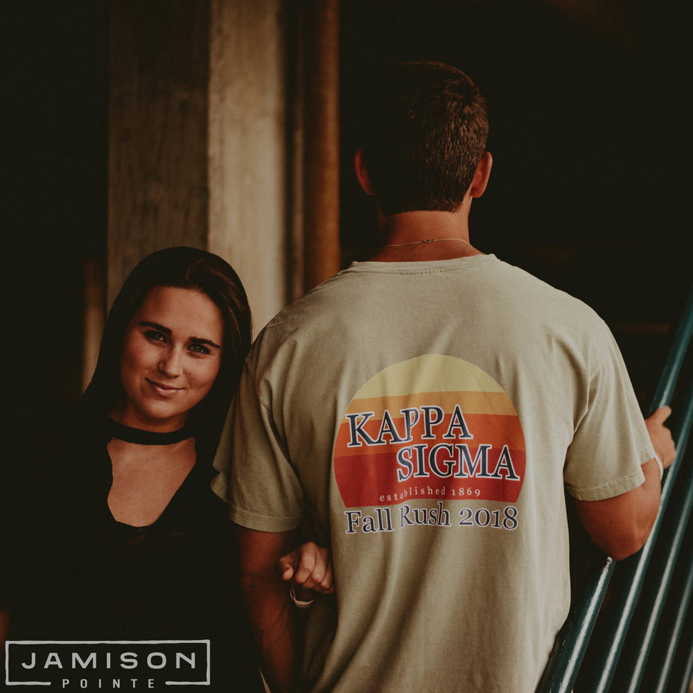 Kappa Sigma Sunset Fall Rush Tee