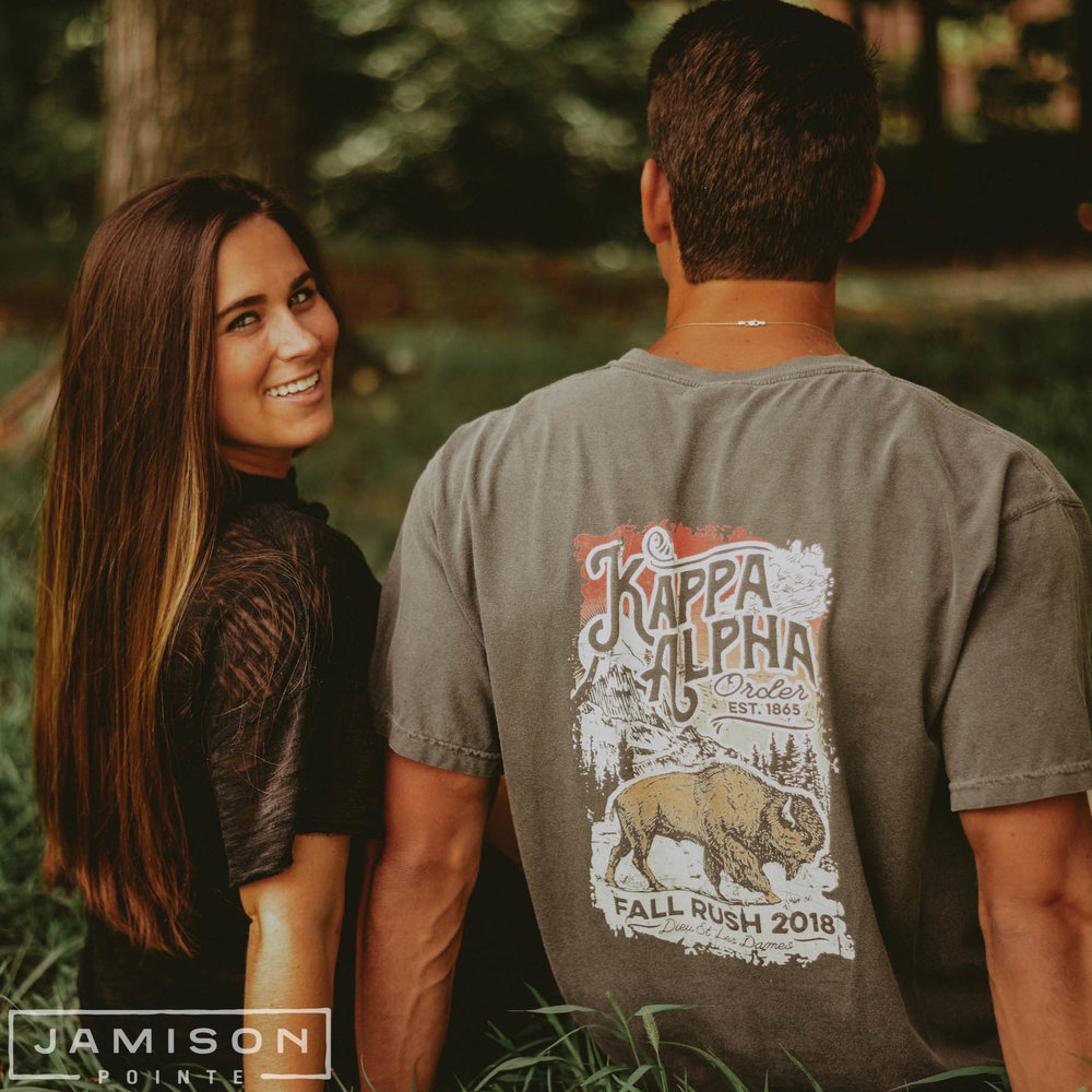 Kappa Alpha Buffalo Fall Rush Tee