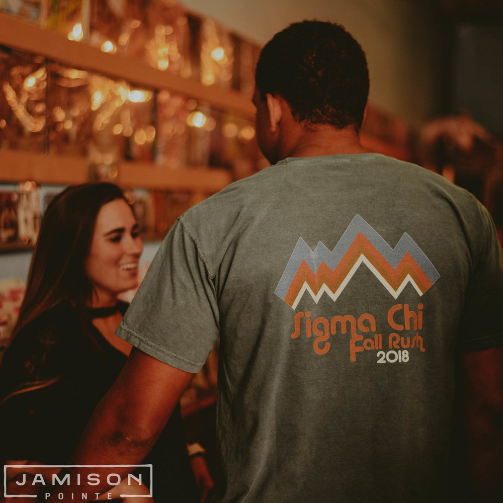 Sigma Chi Mountain Fall Rush Tee