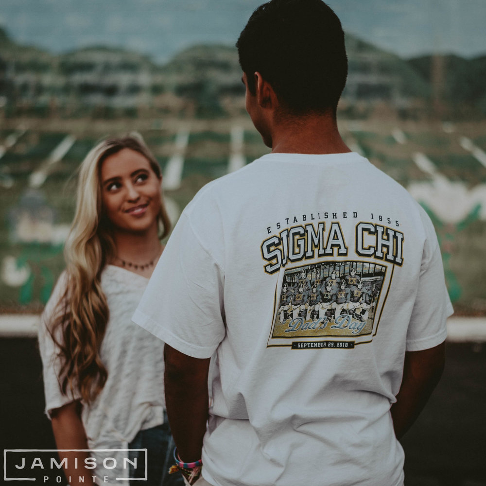 Sigma Chi Dad's Day Tee