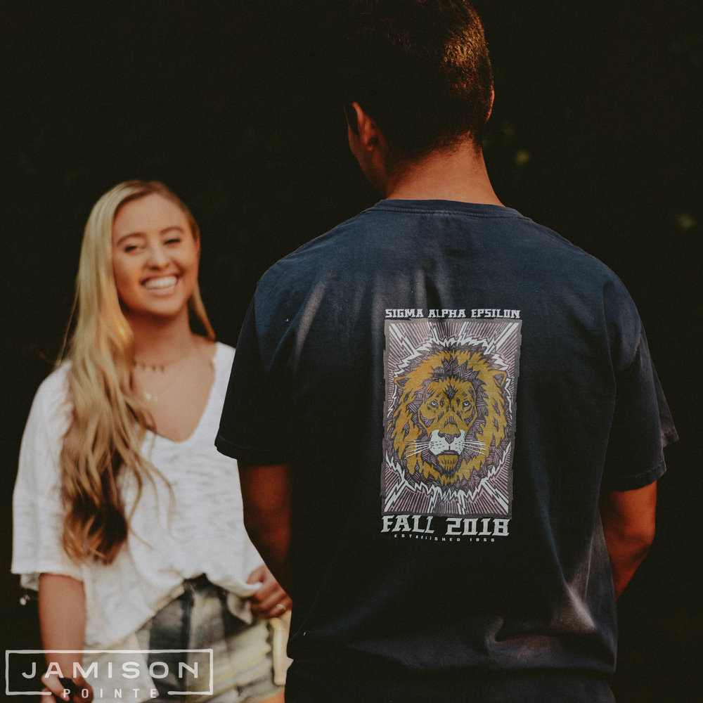 Sigma Alpha Epsilon Lion Rush Tee