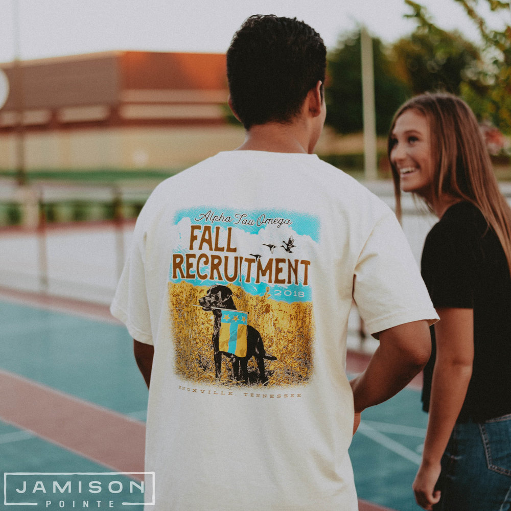 Alpha Tau Omega Fall Recruitment Tee