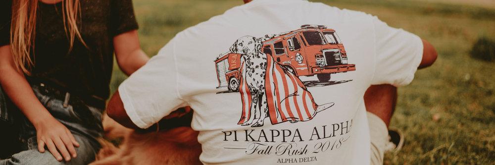 Pi Kappa Alpha Tshirt Designs -