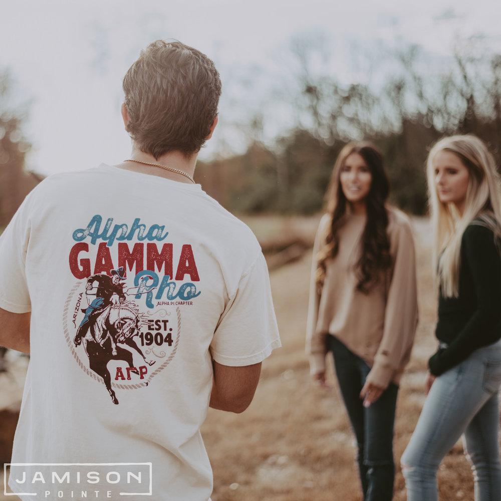 Alpha Gamma Rho Cowboy Tee