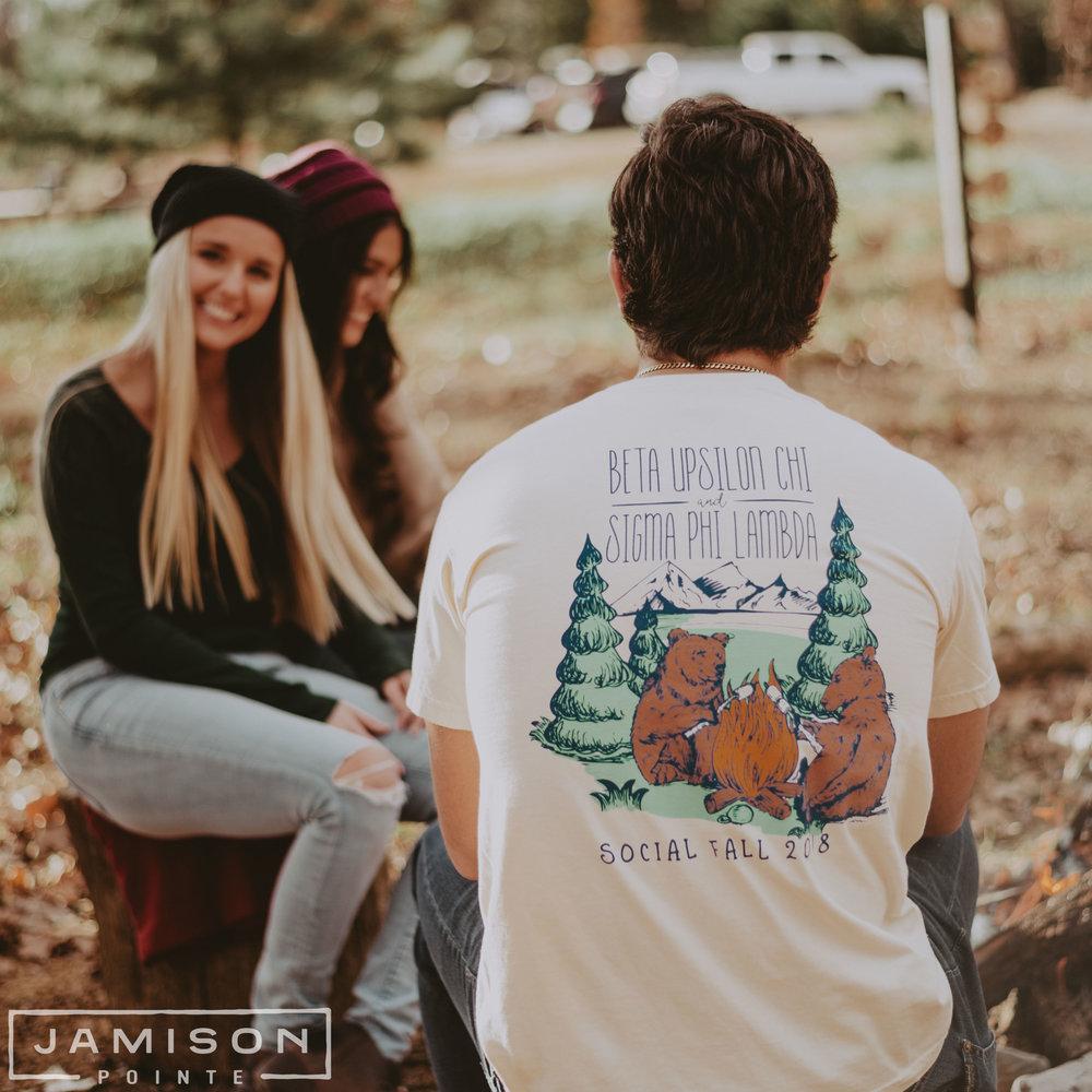 Beta Upsilon Chi Social Fall Tshirt