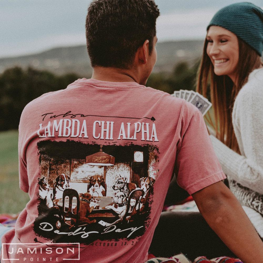 Lambda Chi Alpha Dads Day T-shirt
