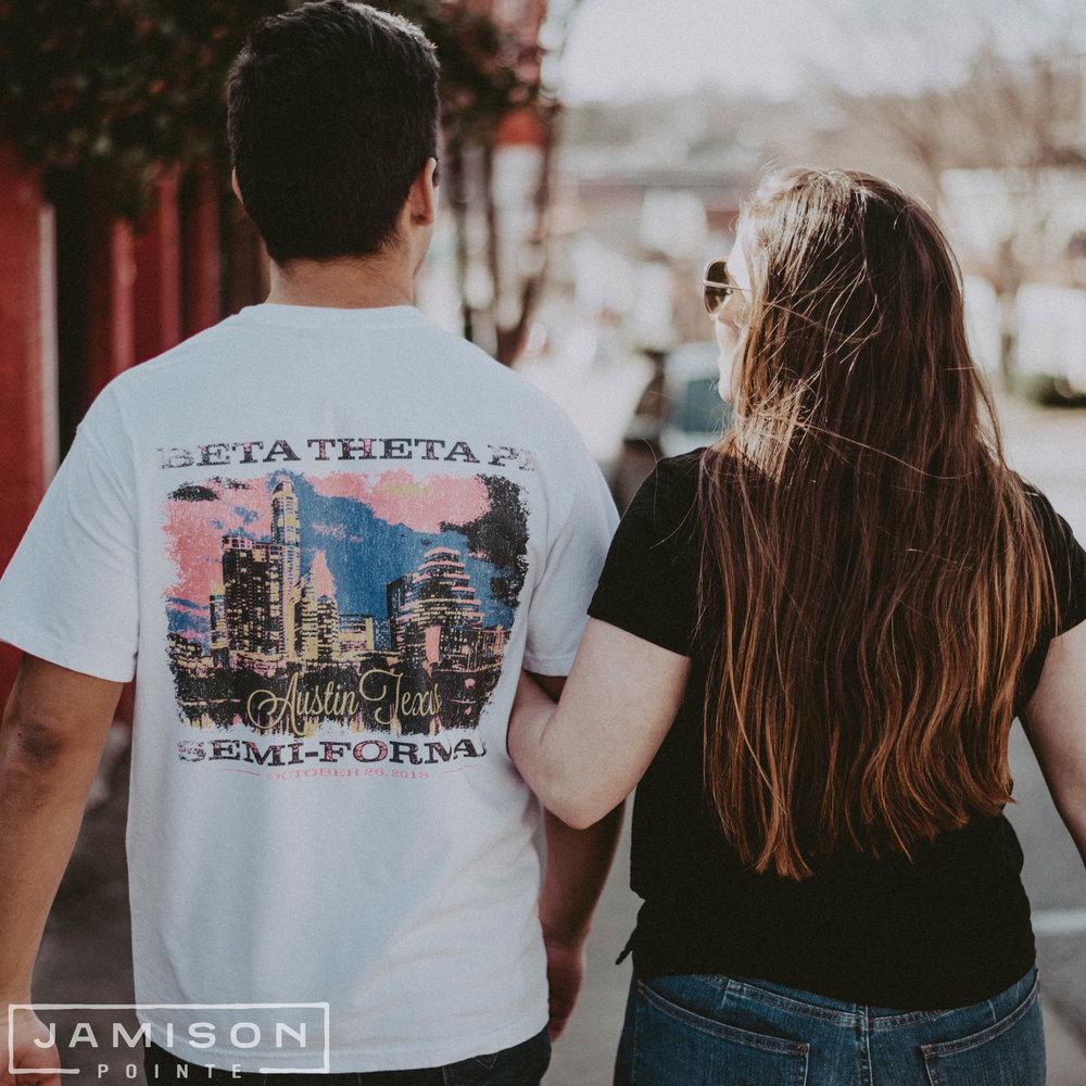 Beta Theta Pi Semi Formal Tshirt