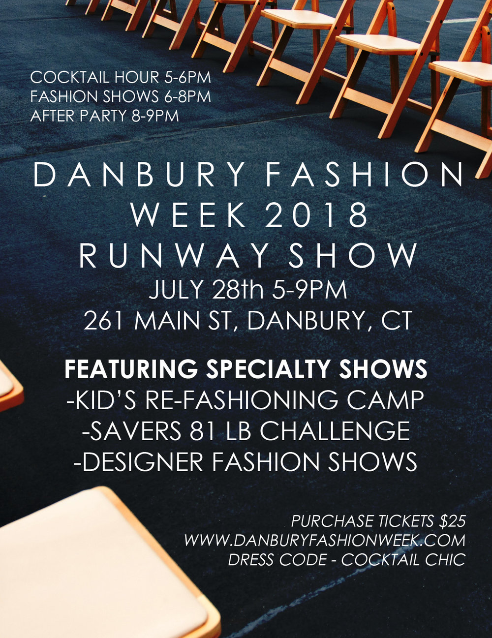 Saturday July 28th 5-9pm @261 Main St, Danbury, CT