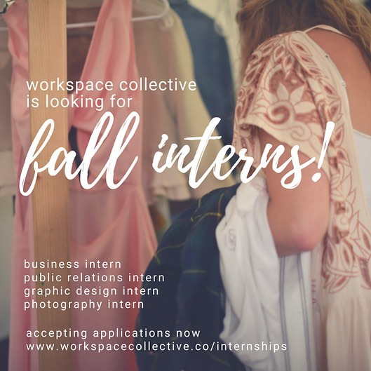 Have you ever dreamed of working in the fashion industry? Have you ever dreamed of working for a start-up business? You no longer have to dream because our partner @workspace_collective is looking to fill multiple internship positions starting in September! Apply for our amazing opportunities via the link in bio🌟 . . . #fashionintern #businessinternship #printern #publicrelationsintern #graphicdesignintern #photographyinternship #fashion #business #publicrelations #graphicdesign #photography #career #intern #style #girlboss #badassbabe #dreambig #collegegirl #internship #fashioninternship #sustainability #wcsu #wcsugreeklife #nvcc #classof2019 #classof2020 #classof2021 #classof2022