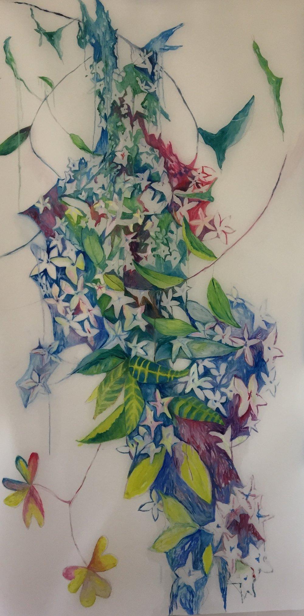 Floral Burst 2, Nuit Blanche Installation
