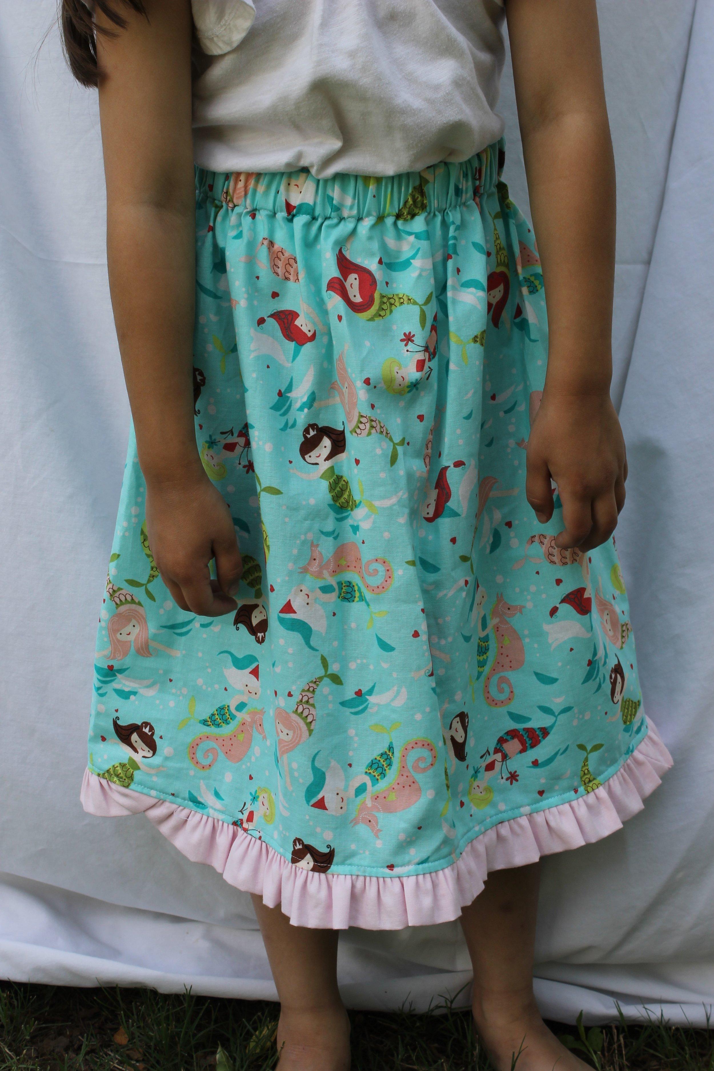 Such a cute Mermaid skirt.