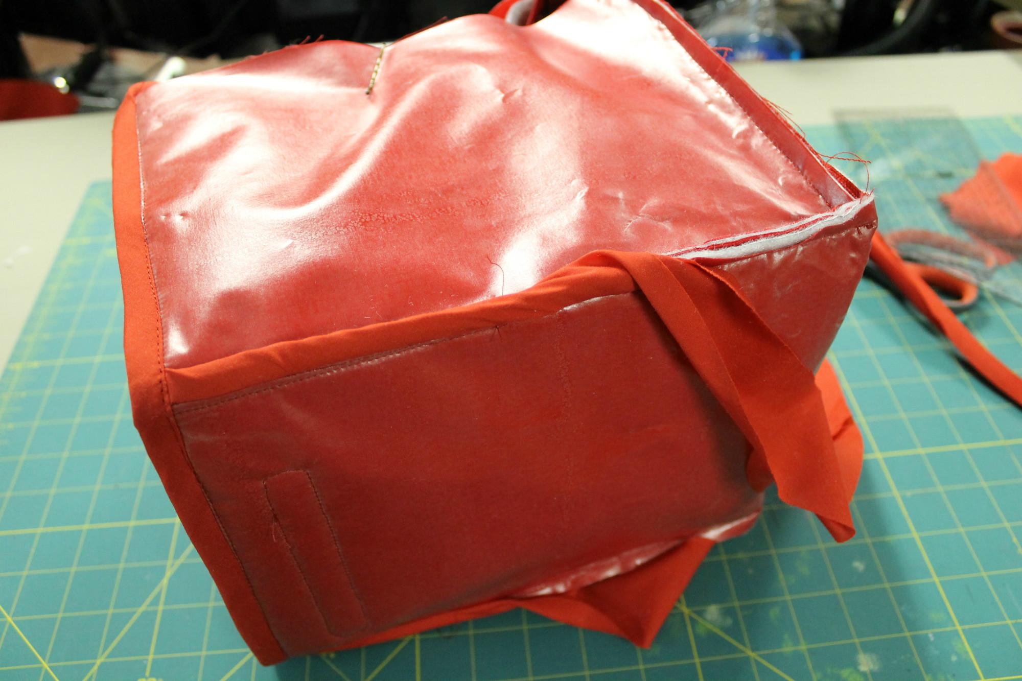 Binding the inside seams