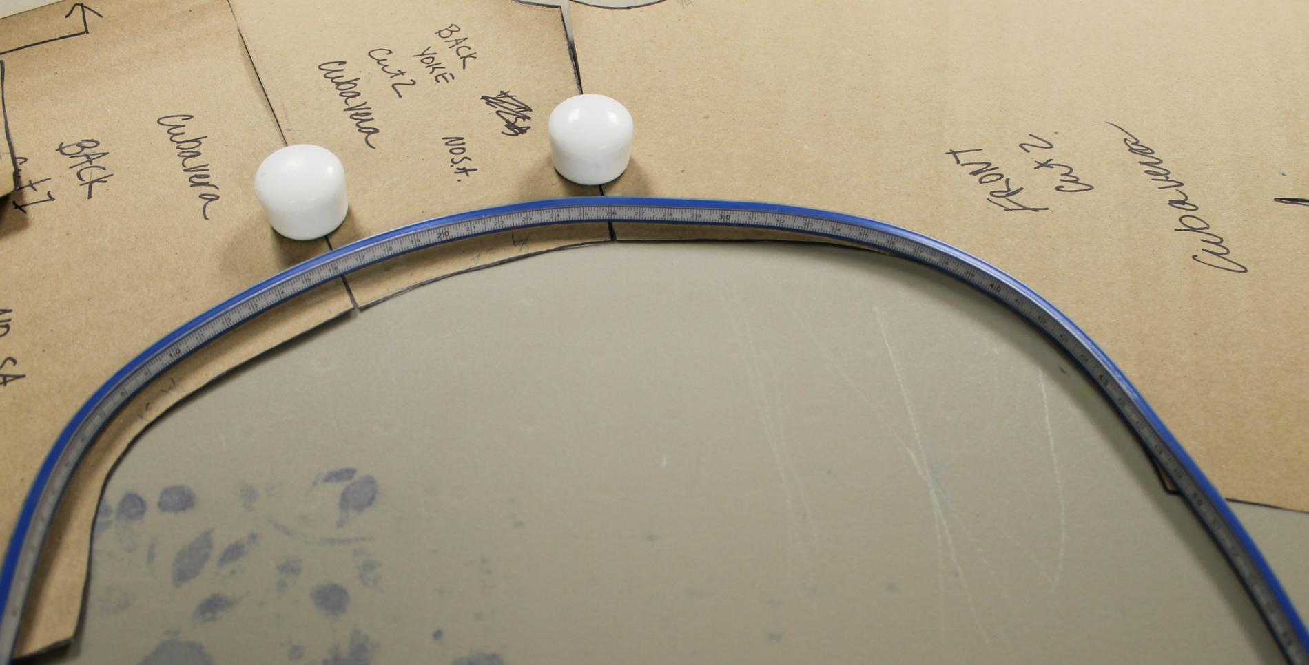 Measuring each seam