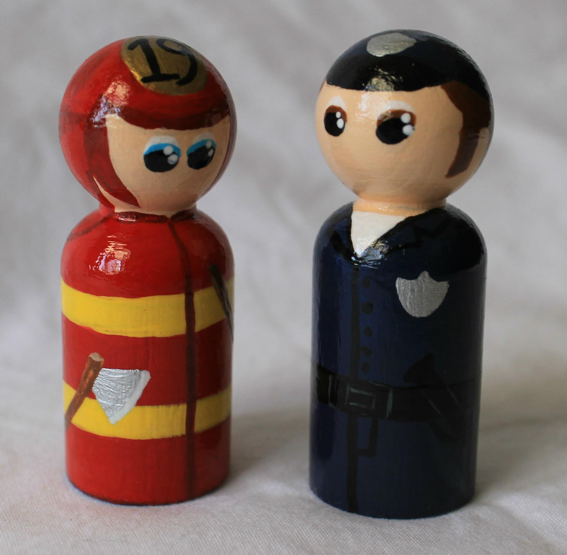 Fireman and Policeman