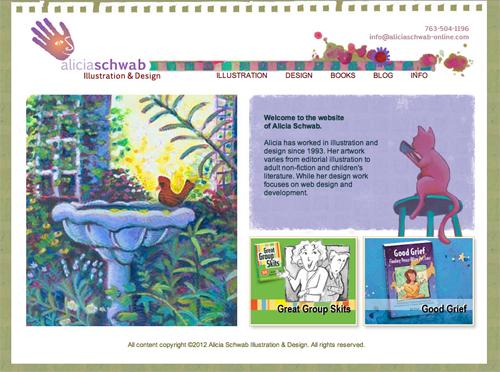 Alicia Schwab's new website