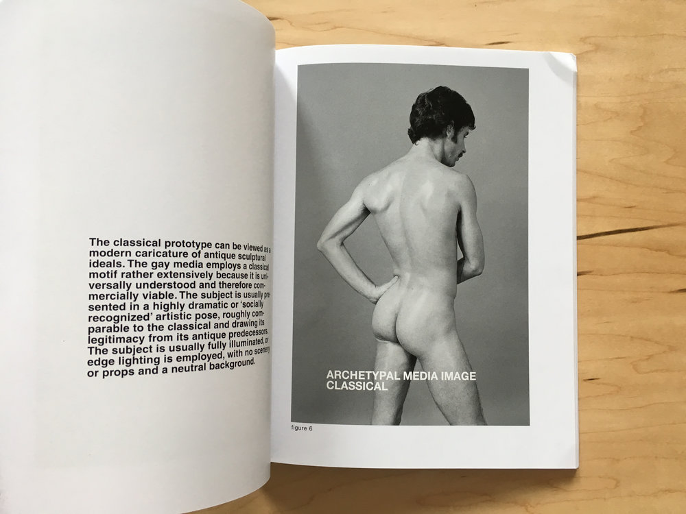 Detail: Hal Fischer,  Gay Semiotics: A Photographic Study of Visual Coding Among Homosexual Men  (Los Angeles: Cherry and Martin, 2015).