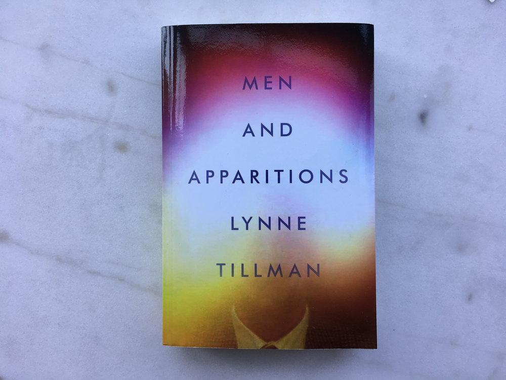 Cover: Lynne Tillman,  Men and Apparitions: A Novel  (New York: Soft Skull Press, 2018).