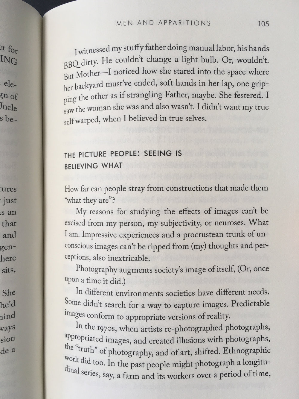 Detail: Lynne Tillman,  Men and Apparitions: A Novel  (New York: Soft Skull Press, 2018).