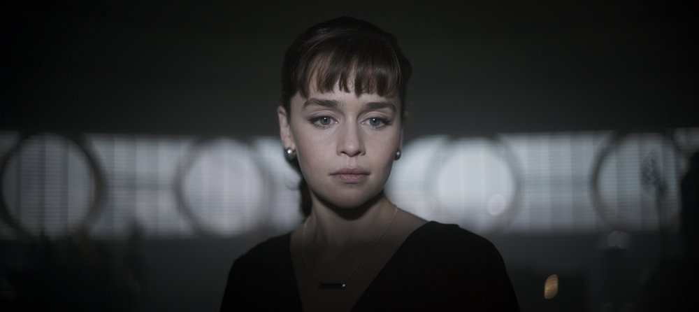 "Emilia Clarke as Qi'ra in ""Solo."" (Photo courtesy Lucasfilm/Disney)"