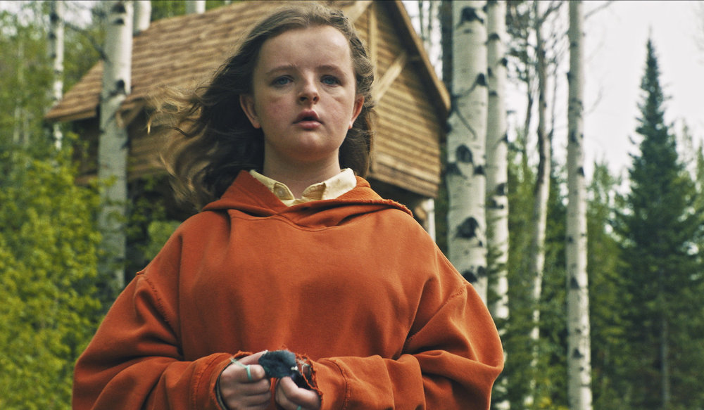 "Milly Shapiro in ""Hereditary."" (Photo courtesy A24/Reid Chavis)"