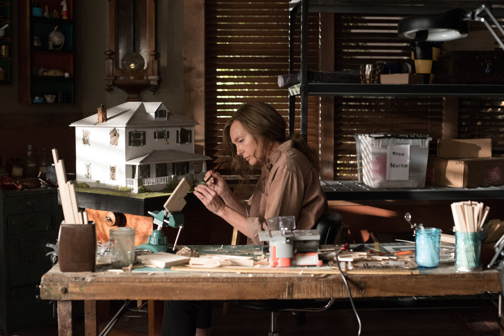 "Toni Collette in ""Hereditary."" (Photo courtesy A24/Reid Chavis)"
