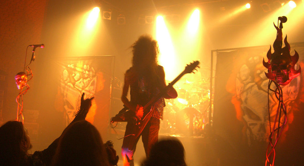 Destruction guitarist Mike Sifringer.  (Photo: By Jr247 [CC BY-SA 3.0 (https://creativecommons.org/licenses/by-sa/3.0) or GFDL (http://www.gnu.org/copyleft/fdl.html)], from Wikimedia Commons