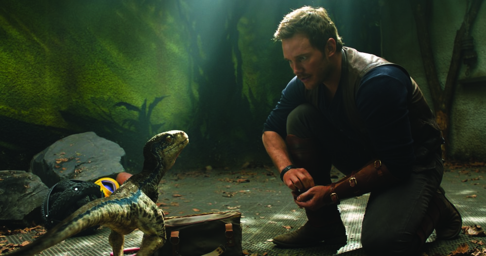 "Chris Pratt stars in ""Jurassic World: Fallen Kingdom"" (Photo courtesy Universal Pictures)"