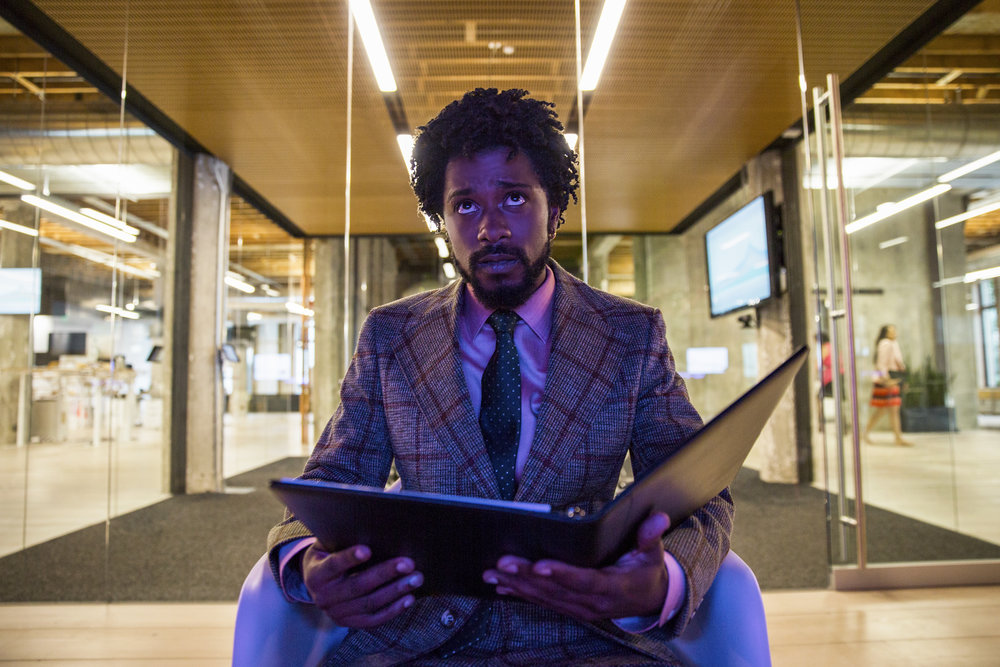 "Lakeith Stanfield in ""Sorry to Bother You."" (Photo courtesy Peter Prato/Annapurna Pictures)"