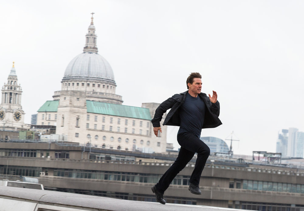 "Tom Cruise in ""Mission: Impossible - Fallout"" (Photo courtesy Paramount Pictures)"