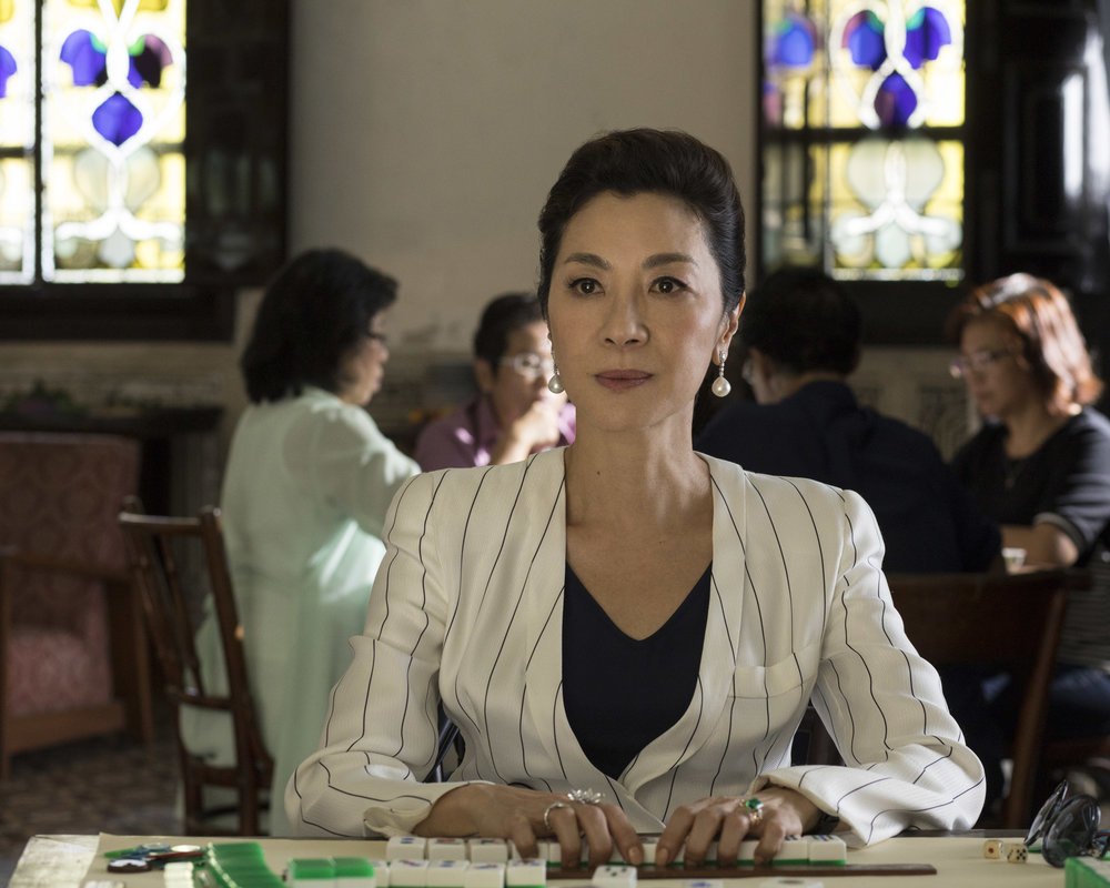 "Michelle Yeoh in ""Crazy Rich Asians."" (Photo courtesy Warner Bros./Sanja Bucko)"