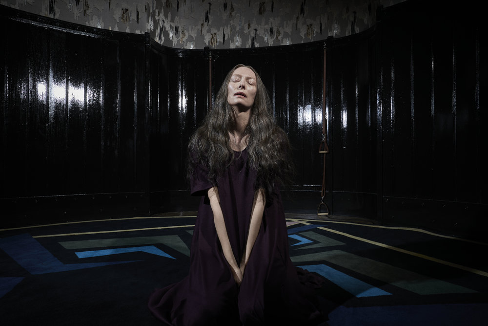 "Tilda Swinton in ""Suspiria."" (Photo courtesy Amazon Studios/Alessio Bolzoni)"