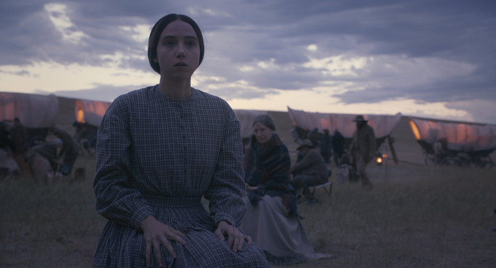 "Zoe Kazan in ""The Ballad of Buster Scruggs."" (Photo courtesy Netflix)"