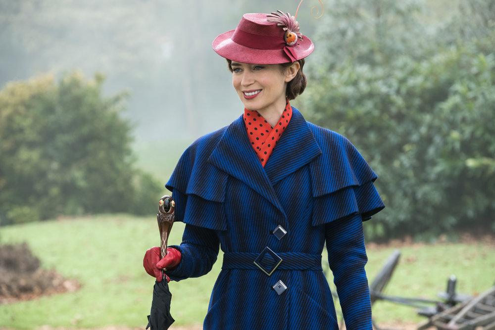 "Emily Blunt stars in ""Mary Poppins Returns."" (Photo courtesy Disney)"