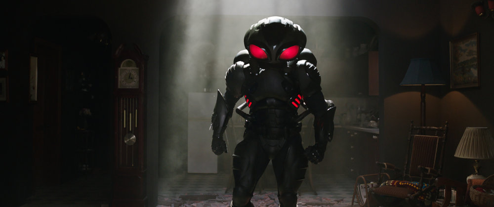 "Yahya Abdul-Mateen II as Black Manta in ""Aquaman."" (Photo courtesy Warner Bros.)"