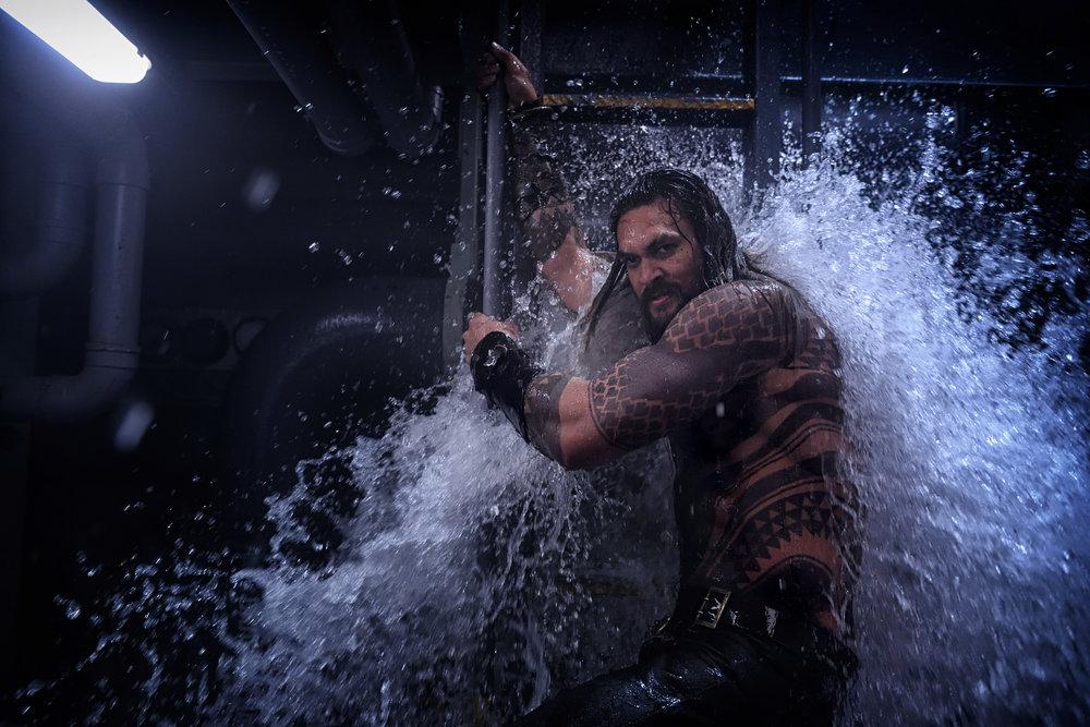 Jason Momoa is Aquaman. (Photo courtesy Warner Bros.)