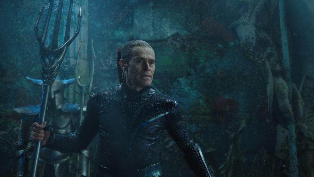 "Willem Dafoe in ""Aquaman."" (Photo courtesy Warner Bros.)"