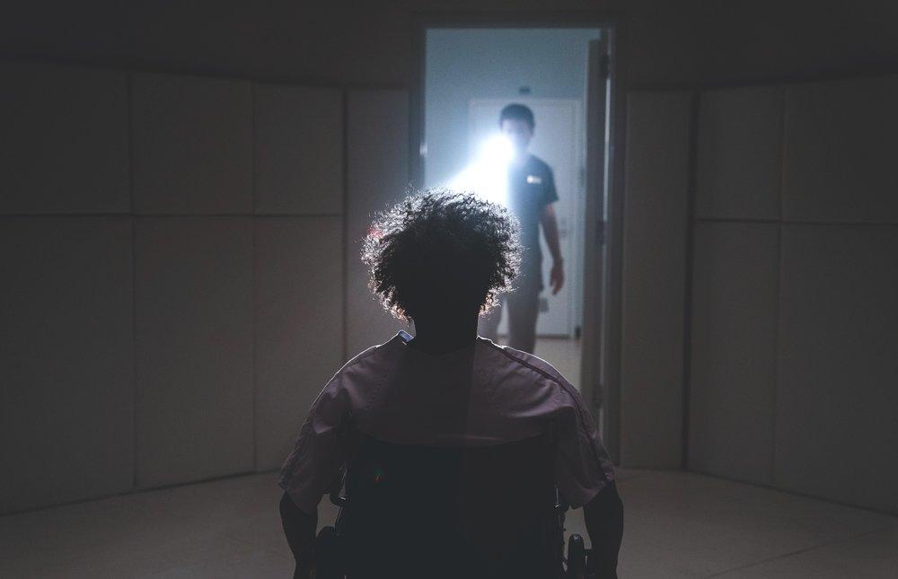 "Samuel L. Jackson in ""Glass."" (Photo courtesy Universal Pictures/Jessica Kourkounis)"