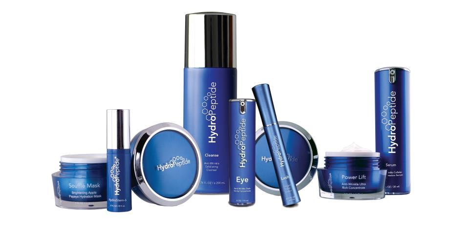 Hydropeptide - Since 2004, HydroPeptide has revolutionized skin care through the power of peptides as messenger molecules that work on a cellular level to increase hydration, visibly reduce lines and wrinkles, and enhance skin's natural luminosity. With over 60 peptides, antioxidant rich botanical stem cells, growth factors and hyaluronic acid, our award-winning daily care and professional collections offer targeted customizable results-driven regimens for all skin types.
