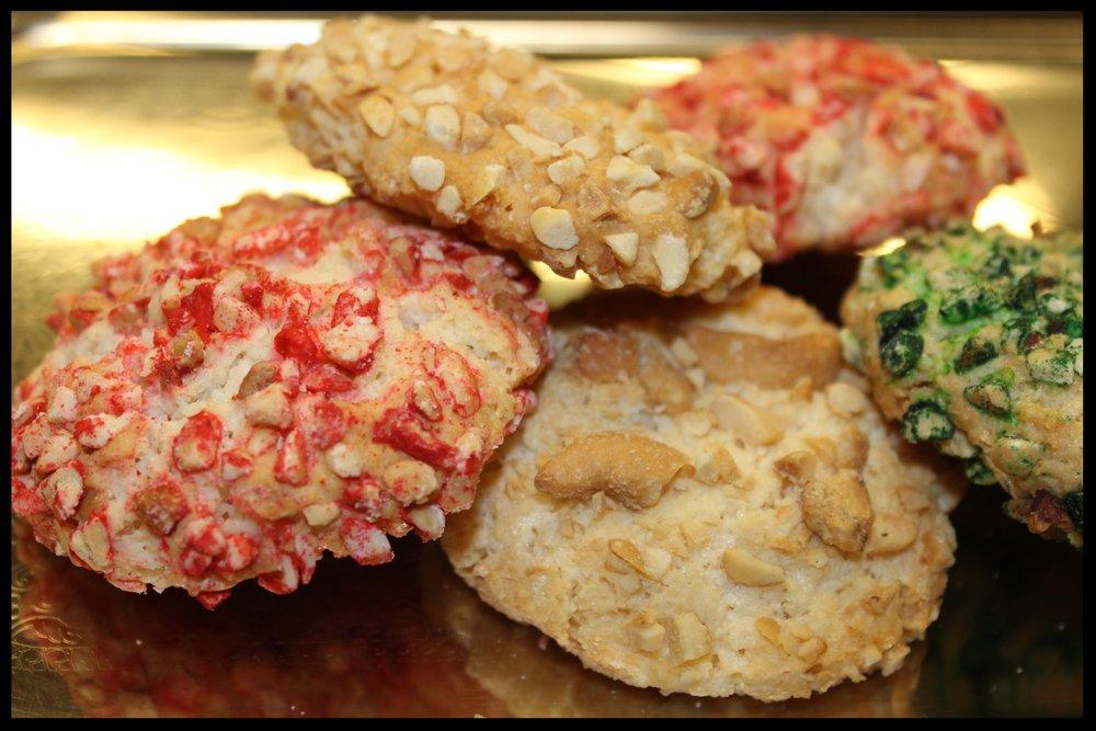 Almond Paste Cookies -