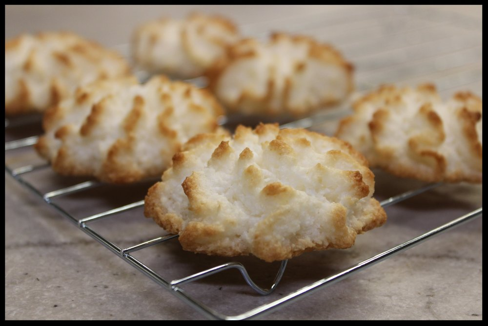 Coconut Macaroon Cookies -