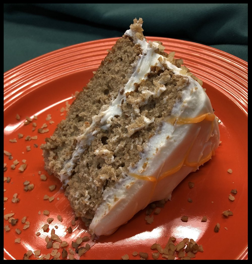 Carrot Cake Slice -