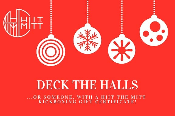 Get your friend mistle-toned with a HIIT the Mitt gift certificate!  DM for holiday pricing  #sleighingit