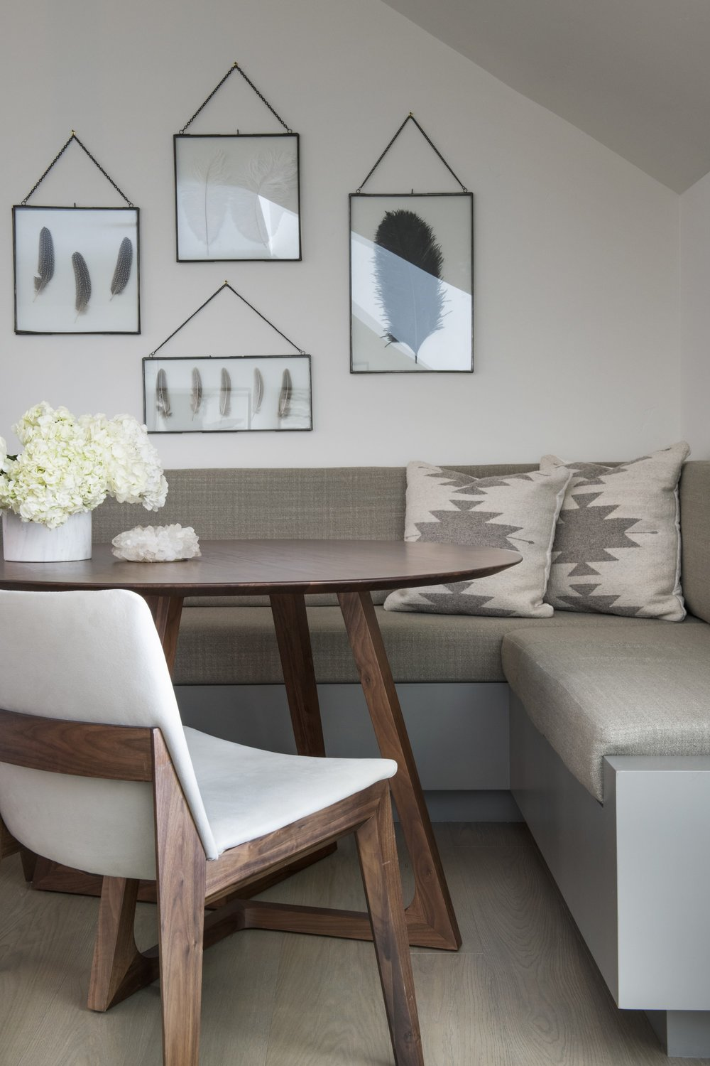 Living room with sofa and table