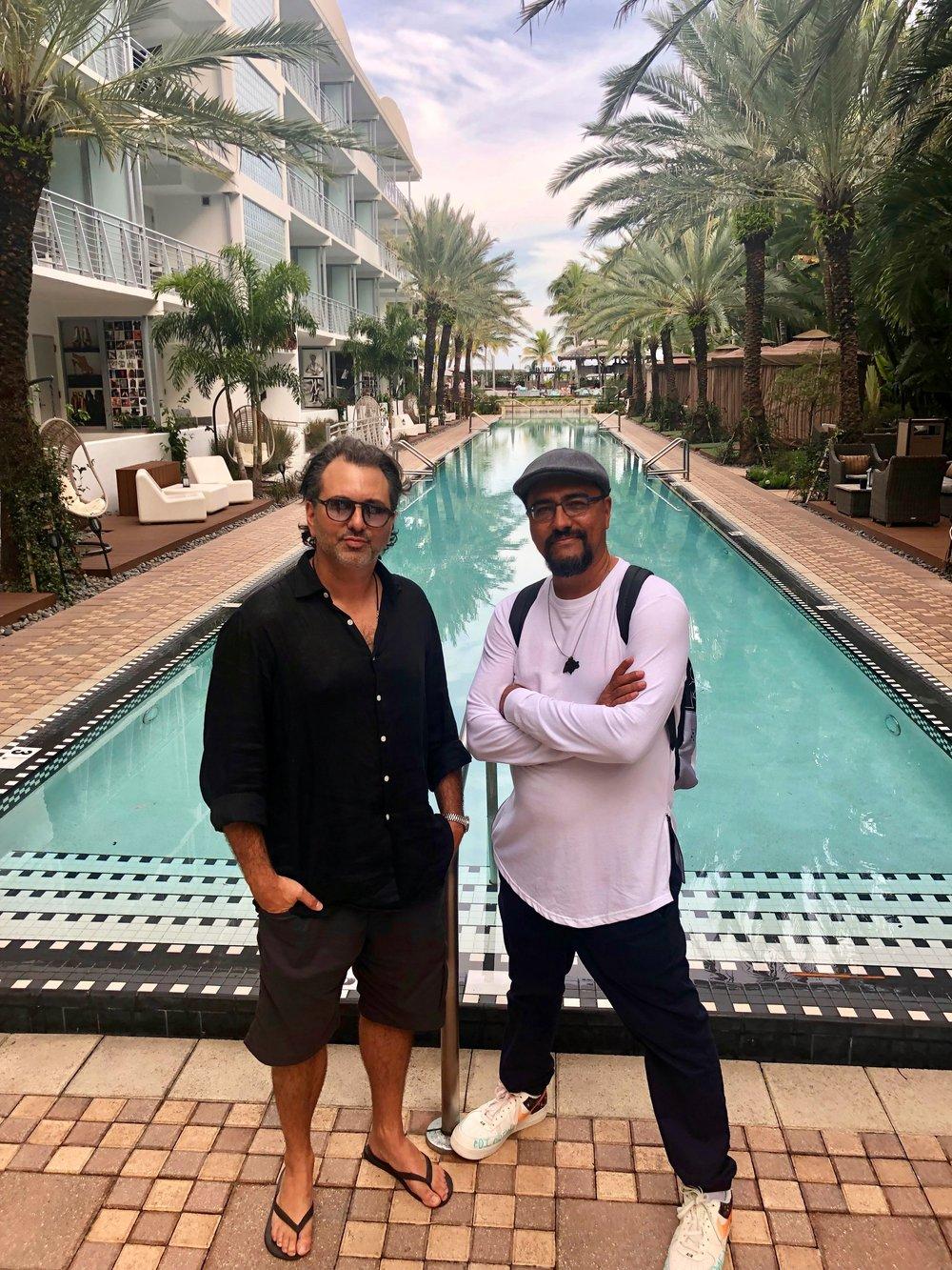 Sourdough and Man One, Miami Beach, FL
